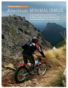 Abenteuer Minimalismus Motorrad 12 - 2006